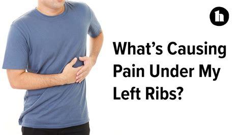 dull pain on lower left side below ribs
