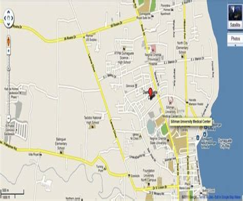 Credit Card Agent Davao City Dumaguete Map Philippines Google Satellite Maps