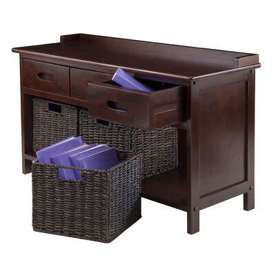Duncan 4 Piece Storage Bench
