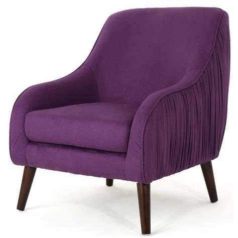 Duong Mid Century Modern Velvet Armchair