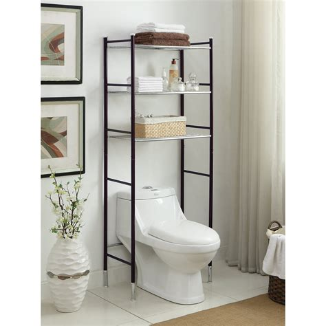 Duplex 24 W x 66.25 H Over the Toilet Storage