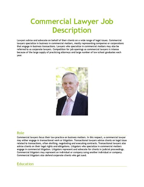 Corporate Lawyer Job Description Duties And Responsibilities Of A Corporate Lawyer