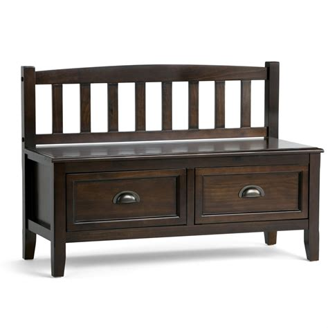 Dvorak Wood Storage Bench