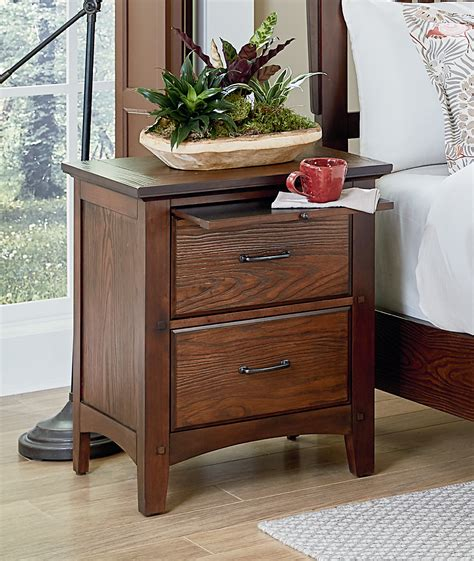 Dwyer 2 Drawer Nightstand