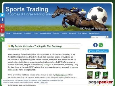 @ Ebooks   My Methods For Trading On Betfair  Ukft   Best .