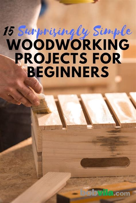 Easy Carpentry Projects For Beginners