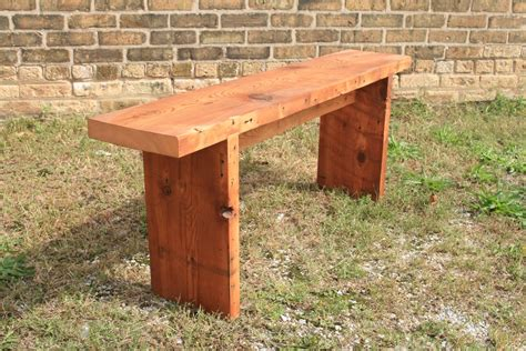 Easy To Build Wood Benches