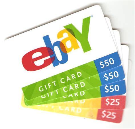 Ebay Add Credit Card Ebay Gift Cards Ebay