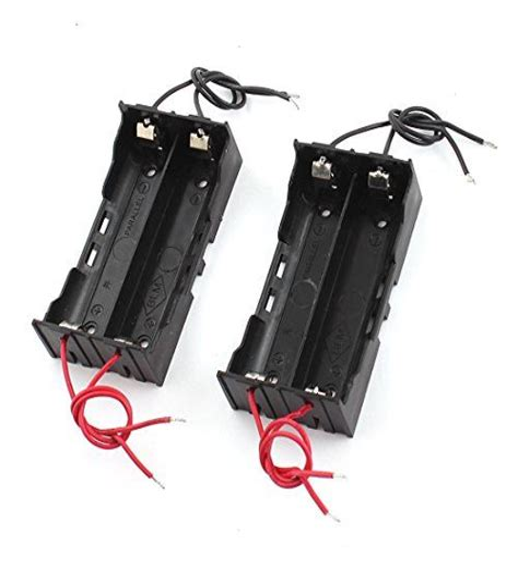 Ebay Plastic Credit Card Holder Amazon Abcgoodefg 37v 18650 Battery Holder Case