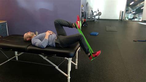 eccentric hip flexor strengthening seated row exercise