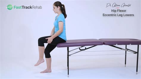 eccentric hip flexor strengthening seated scribe