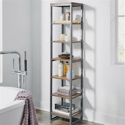 Eckles 13 W x 60.25 H Bathroom Shelf
