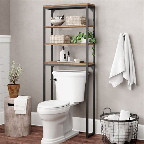 Eckles 25 W x 64 H Over-the-Toilet