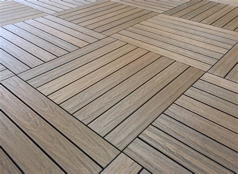 Eco Deck And Balcony Tiles Cedar Box.