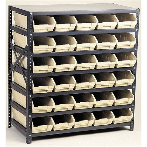 Economy Shelf Storage Units with Bins