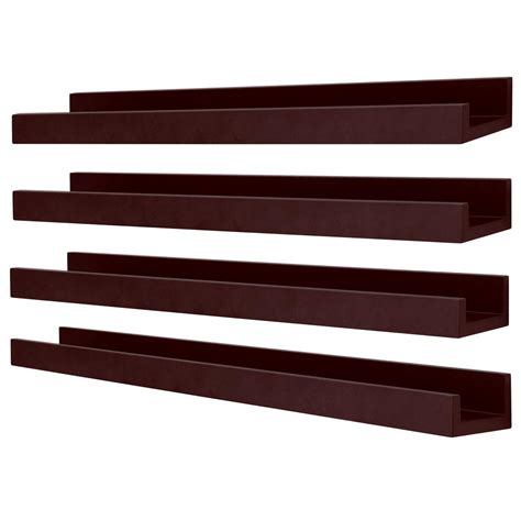 Edge Picture Frame Ledge (Set of 4)