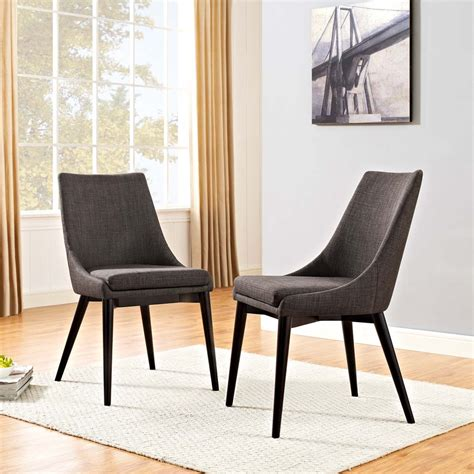 Edith Fabric Side Chair (Set of 2)