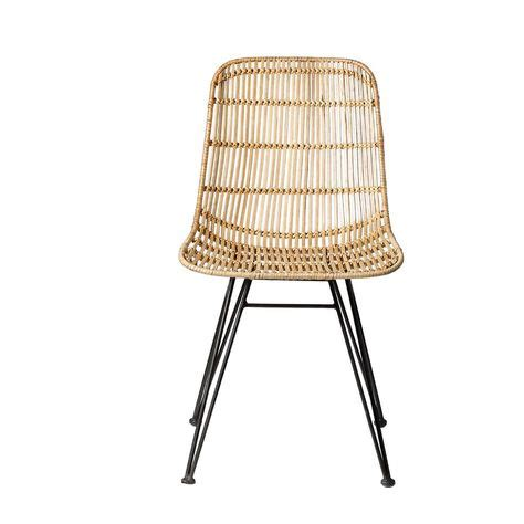 Edmond Braided Rattan Side Chair