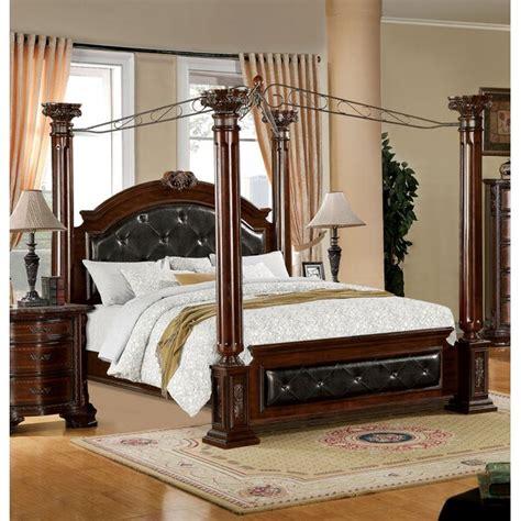 Edmore Upholstered Canopy Bed byAstoria Grand