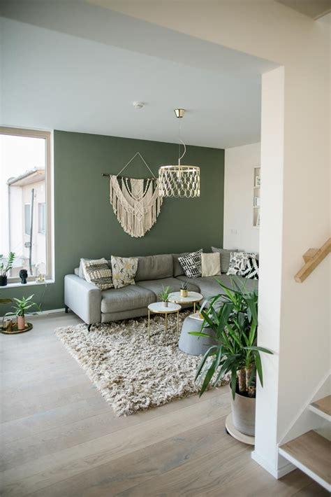 Einrichtungsideen Wohnzimmer Wandfarbe