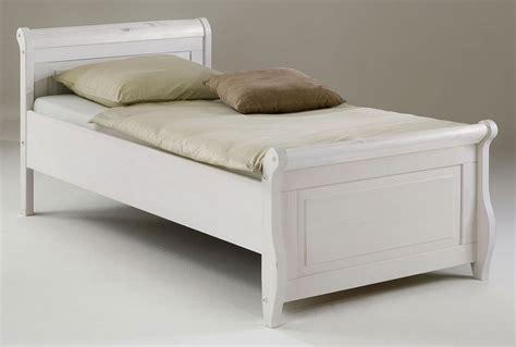 Einzelbett 100x200 Weiß