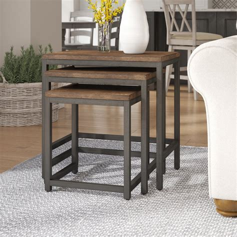 Ekalaka 3 Piece Nesting Tables