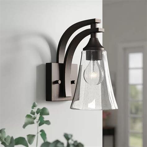 Elaina 1-Light Armed Sconce