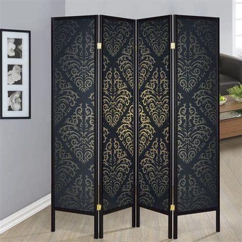 Elayna 70 x 69 4 Panel Room Divider