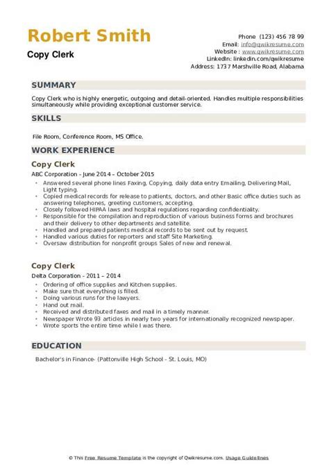 Electronic Copy Of Your Resume Sample Resume For Business