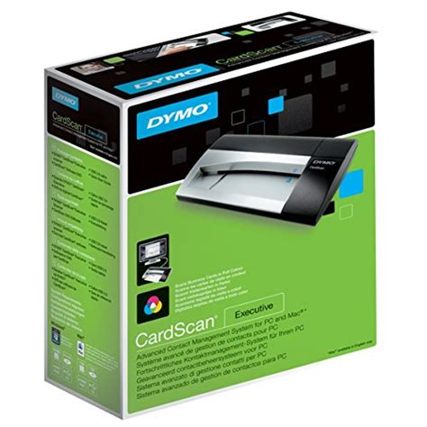 Electronic Credit Card Scanner Dymo Cardscan Executive Card Scanner