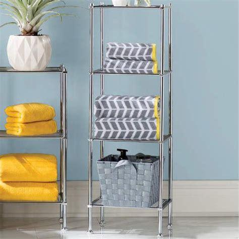Elene 13 W x 41.13 H Bathroom Shelf