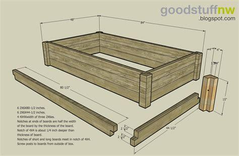 Elevated Garden Beds Plans