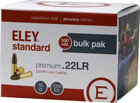 Ammunition Eley Ammunition Manufacturer.