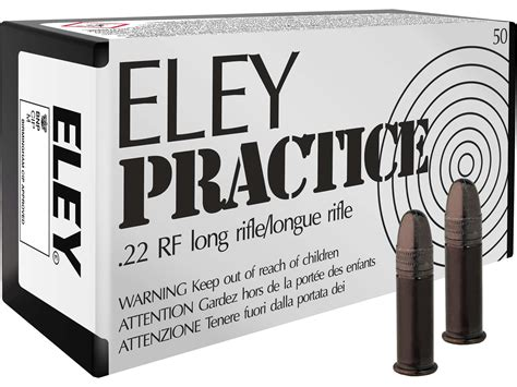 Ammunition Eley Practice Ammunition.