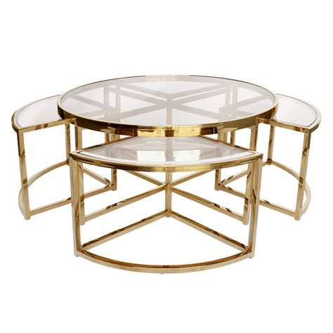 Eliott 5 Piece Coffee Table Set