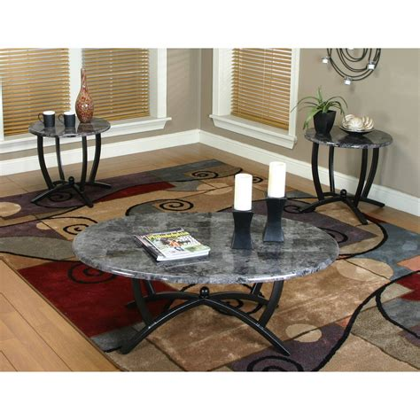 Elizabeth 3 Piece Coffee Table Set