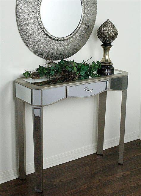 Elizabeth Mirrored Console Table