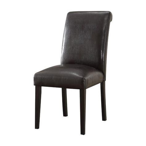 Ellettsville Upholstered Rolled Back Dining Chair (Set of 2)