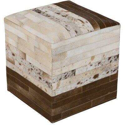 Ellingwood Leather Pouf