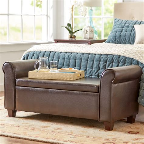 Ellison Fabric Storage Bench