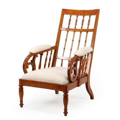 Elmwood Simple Solid Armchair
