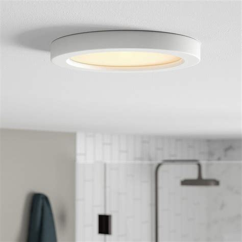 Elzy Round 1-Light LED Flush Mount