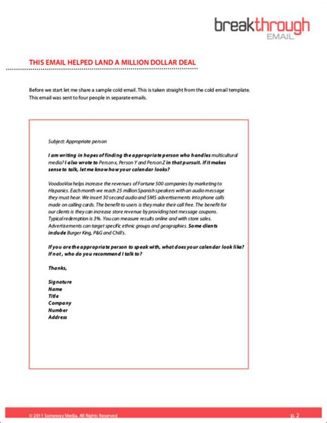 Cold Cover Letters   Resume Format Download Pdf Resume Pdf Download