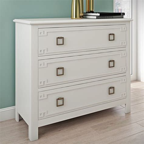 Emilee 3 Drawer Overlay Accent Chest