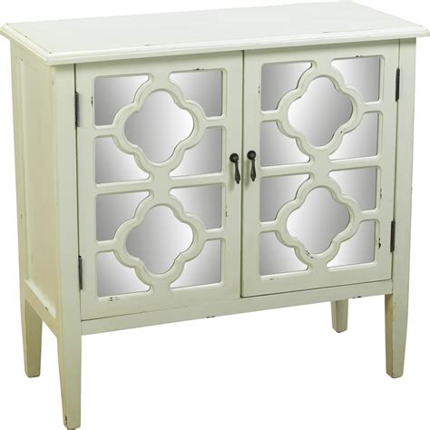 Emilie Mirrored 2 Door Cabinet