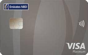 Emirates Credit Card Fees Visa Platinum Credit Card Uae Emirates Nbd