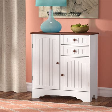Emmaline Wood Storage 2 Door Accent Cabinet
