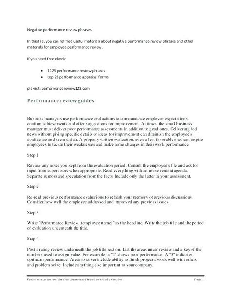 Employee Evaluation Input Form Employee Input For Performance Evaluations Careers In