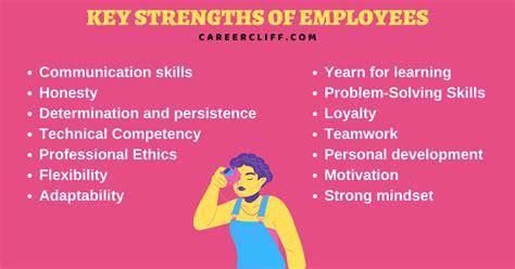 key strengths list