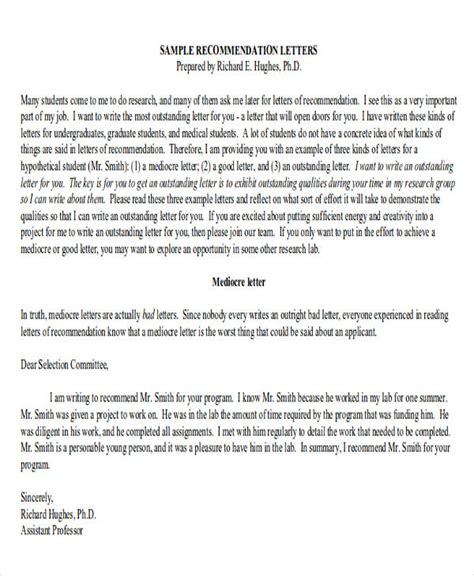 employer letter of recommendation for college admission sample recommendation letter from an employer